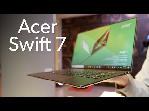 Acer Swift 7 (2019): Smaller and clickier