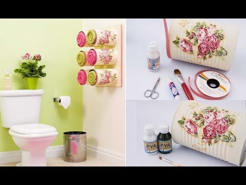 Freeform Crochet Diy Home Decor 2017 Diy Bathroom Tin Cans Diy
