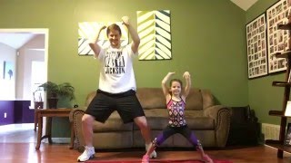 "Daddy/Daughter Workout to ""Daddy"" by PSY by jprinder1"