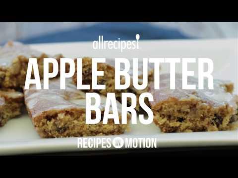 How to Make Apple Butter Bars   Dessert Recipes   Allrecipes.com