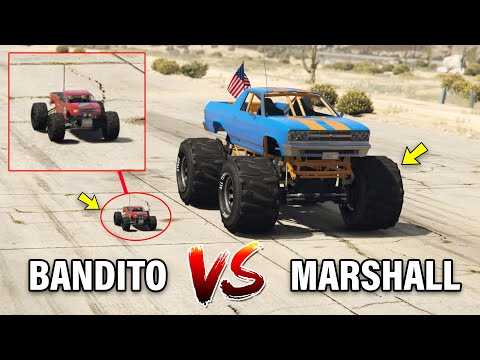 GTA 5 ONLINE - RC BANDITO VS MARSHALL (WHICH IS BEST?)