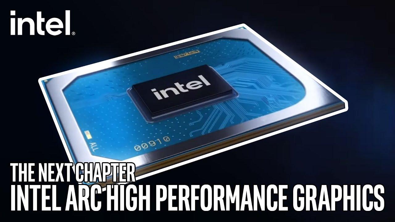 英特爾宣布全新高效能圖形品牌:Intel Arc    全新圖形品牌將涵蓋硬體、軟體以及服務    產品線首款晶片將於2022第一季現身,並同時提供筆電與桌機規格