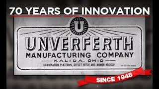 70 Years at Unverferth Manufacturing Co., Inc.