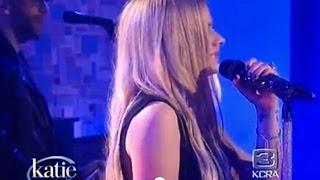 Avril Lavigne - Let Me Go Live (The Katie Couric Show) HD