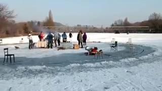 Ledový kolotoč Hlásná Třebaň 2017 - I