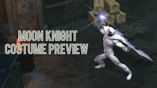 Moon Knight Costume Preview - Marvel Heroes Omega (PC/PS4/XBOX)