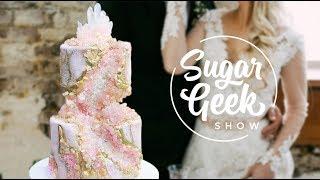 Mini Crystal Kintsugi Cake | Sugar Geek Show