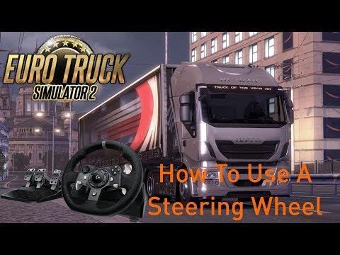 how to set up steering wheel :: Euro Truck Simulator 2