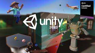 Tutorial completo de Unity 2020 gratis - Aprende a crear videojuegos desde cero
