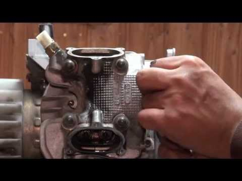 Remove Head & Cylinder from Zuma, BWs, Cygnus 125 Scooter: Part 1/4