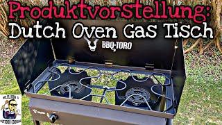 Pünktlich zu Ostern: Der neue DUTCH OVEN Gas Tisch von BBQ-TORO