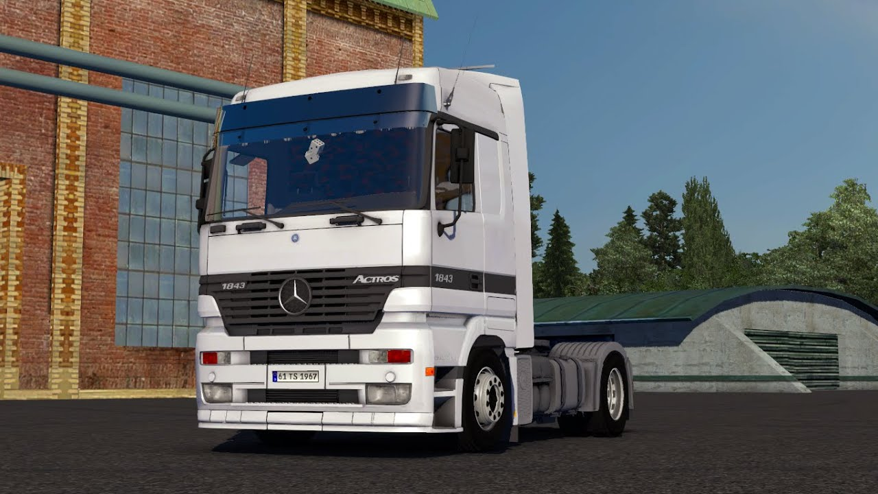 Mercedes Benz Actros 1843 Mp1 mod for ETS 2