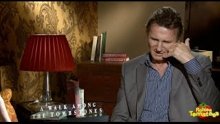 Liam Neeson Threatens Reporter On The Telephone