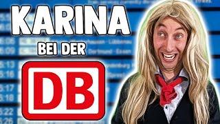 Karina bei der deutschen Bahn Teil 1🚅 | Freshtorge
