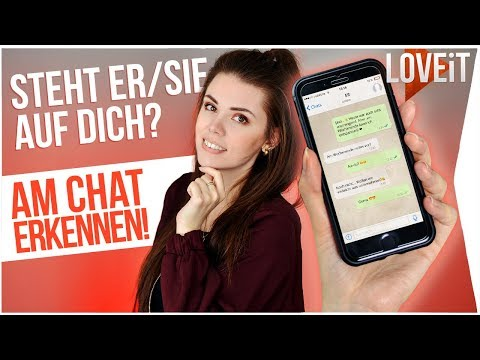 Indirekt flirten whatsapp