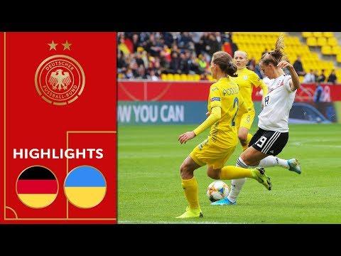 Germany vs. Ukraine 8-0 | Highlights | Women's Euro Qualifiers