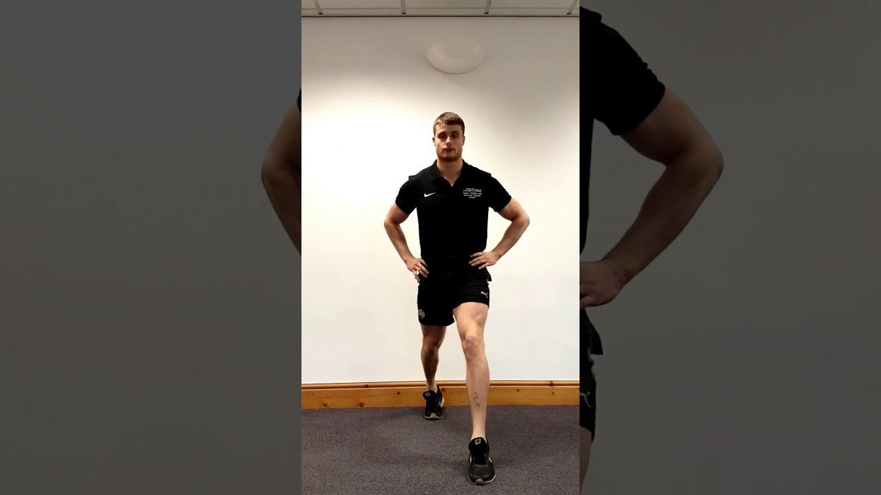 shallow split squat