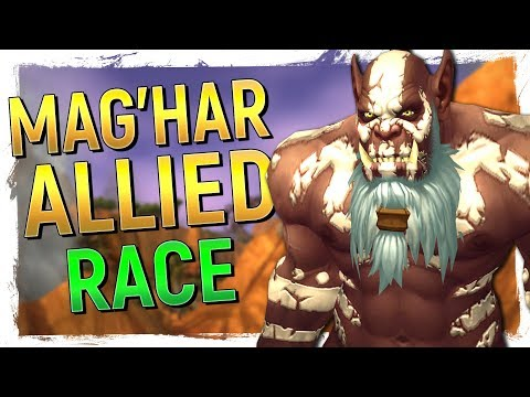 5 NEW CLANS! Mag'Har Orc Allied Race & Upright Orc Preview: WoW Battle for Azeroth