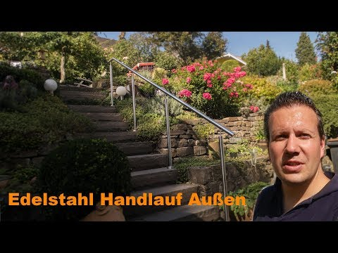 Edelstahl #Handlauf Aussen - #Vlog - JPS Metalldesign