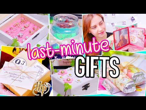 LAST MINUTE DIY Gifts! Harry Potter, magic card…| For BFF, Boyfriend, Parents…Christmas/Birthday
