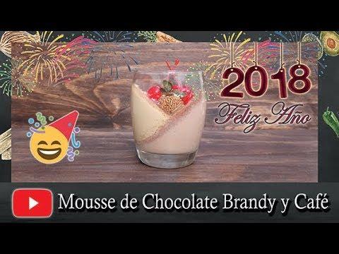 Mousse de Chocolate Brandy y Café ¡Postre de año nuevo!