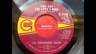 undisputed truth - you got the love i need