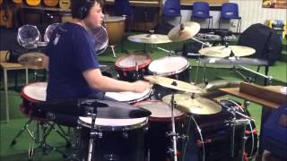 Pachebel's Canon in D Major on Drums