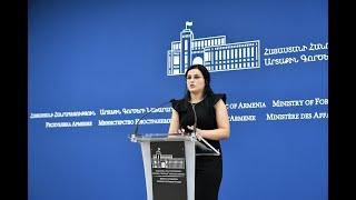 ԱԳՆ մամուլի խոսնակ Աննա Նաղդալյանի ճեպազրույցը լրագրողների հետ, 13.09.2019
