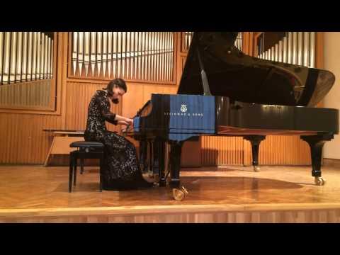 Robert Schumman - Sonate №2 (1st part)  Kamilla Bendersky - piano