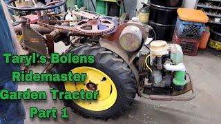 Bolens Ridemaster Restoration (Part 1)