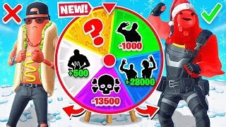 Random EMOTE Wheel LOOT Game Mode in Fortnite