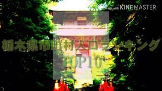 栃木県市町村人口ランキングTOP10