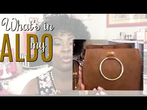 👛 What's in my ALDO bag? | The Pink Pearls Glam Parlour