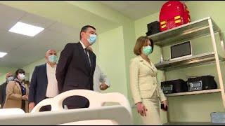 რესპუბლიკურ საავადმყოფოში ახალი კოვიდგანყოფილება გაიხსნა, რომელიც ჯამში 400 პაციენტს მოემსახურება