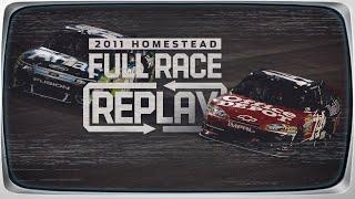 Classic NASCAR Full Race Replay: Tony Stewart wins 2011 championship at Homestead-Miami