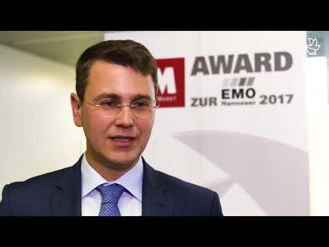 MM Award zur EMO Hannover 2017 – Prozesssicherheit sichergestellt