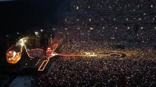 Coldplay - Fix You Live at Wembley Stadium 16/06/16
