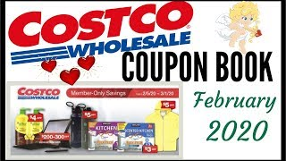 ❤️FEBRUARY 2020 COSTCO COUPON BOOK 💵 MEMBER ONLY SAVINGS DEALS + Preview 2020 ● 2/5/20 - 3/1/20