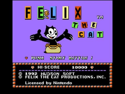 Felix The Cat NES Gameplay Longplay (Полное прохождение)