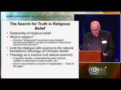George Coyne at Nobel Conference 49