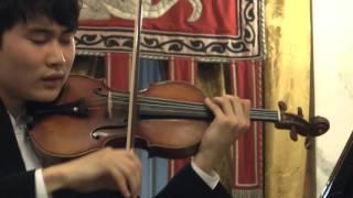 In Mo Yang - Paganiniana (Milstein) - Genoa, 2 October 2015