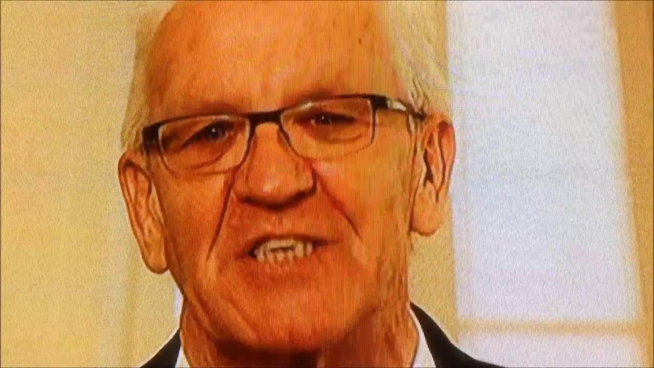 Winfried Kretschmann gratuliert Kardinal Lehmann zum 80. Geburtstag Pfingstmontag 2016