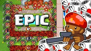 SNIPERS ARE AWESOME  ::  Bloons TD Battles  ::  SNIPERS AND SPIKE FACTORIES | Kholo.pk