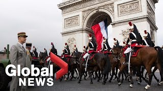 Sights And Sounds From Bastille Day In Paris, France
