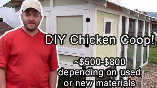 DIY Carolina Coop Chicken Coop Tour