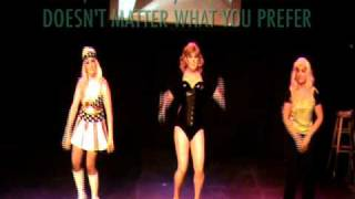 Fellabone (Live at Bitch Salad Gives Back 2010) Lady Gaga Telephone Parody