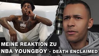 NBA Youngboy - death enclaimed | LIVE - REAKTION