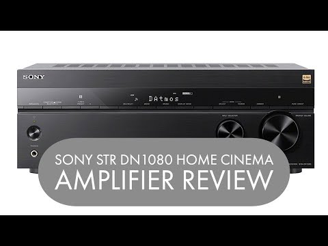 SONY STR DN1080 HOME CINEMA AMPLIFIER REVIEW | Henry Reviews