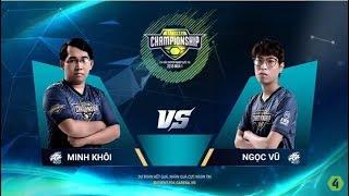 VERMISSE (Minh Khôi) vs HANYA (Ngọc Vũ) [Vòng Bảng] [05.10.2018] - FO4 National Championship