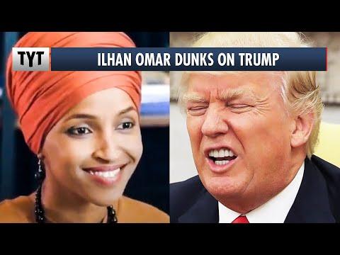 Ilhan Omar EPICALLY Dunks On Trump